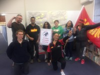 Unite union members complete our first Find Your Frontline workshop.